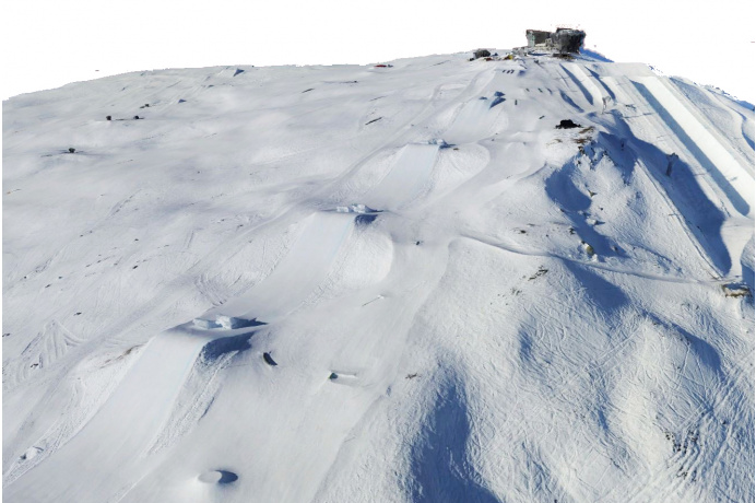 3D-Map - Digitale Geländemodell Skigebiete in Tirol